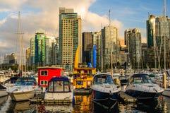 Kohlen-Hafen Vancouver Lizenzfreies Stockbild