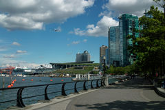 Kohlen-Hafen-Weg, Vancouver BC Kanada stockfotografie