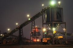 Kohlen-Versorgung lizenzfreie stockfotos