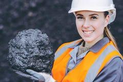 Kohlenarbeitskraft Stockfoto