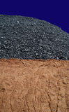 Kohlenbergbau 1 Lizenzfreies Stockbild