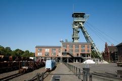Kohlenbergwerk Zollern - industrieller Weg Dortmund Lizenzfreies Stockbild