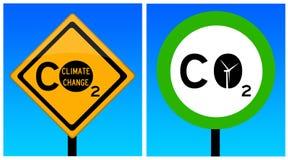 Kohlendioxyd Lizenzfreie Stockfotos