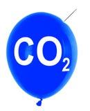 Kohlendioxydballon stockfotografie