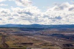 Kohlengrube, die meisten, Tschechische Republik Lizenzfreies Stockfoto