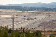 Kohlengrube, Sokolow, Tschechische Republik stockfoto