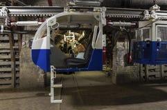 Kohlengrube-Transporter Stockfoto