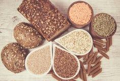 Kohlenhydrate - eine grundlegende Energiequelle für den menschlichen Körper lizenzfreie stockfotos