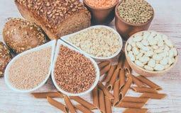 Kohlenhydrate - eine grundlegende Energiequelle für den menschlichen Körper lizenzfreie stockfotografie