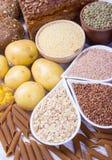 Kohlenhydrate - eine grundlegende Energiequelle für den menschlichen Körper lizenzfreies stockfoto