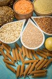 Kohlenhydrate - eine grundlegende Energiequelle für den menschlichen Körper stockfotos