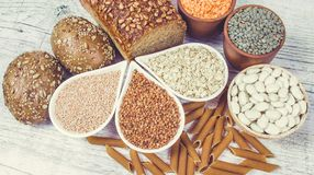 Kohlenhydrate - eine grundlegende Energiequelle für den menschlichen Körper lizenzfreie stockbilder