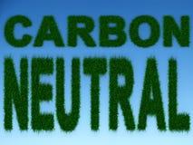 Kohlenstoff-neutrale Person Lizenzfreie Stockfotografie