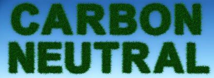 Kohlenstoff-neutrale Person Stockfotos