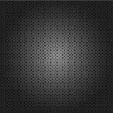 Kohlenstoffkordsamtgitterschwarzhintergrund Vektor Stockbilder