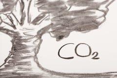 Kohlenzeichnung Lizenzfreies Stockbild
