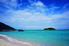 KohLipe strand Fotografering för Bildbyråer