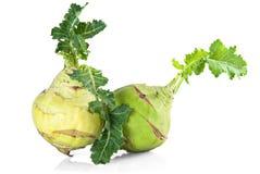 Kohlrabi cabbage Stock Photos
