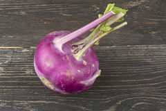 Kohlrabi cabbage Stock Photo
