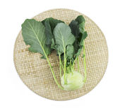 Kohlrabi on mat Royalty Free Stock Image