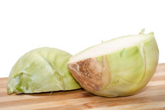 KOHLRABI PIECES Stock Photo