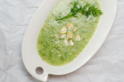 Kohlrabi soup Royalty Free Stock Photography