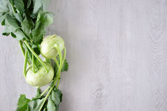 Kohlrabi Stock Photography