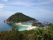 KohNangYuan. View brech sea travel sand stock photos