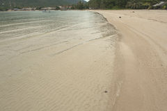 KohPhangan Thailand Beach Landscape Sand Waves BlueWather SunyDay  PerfectBeach Stock Photography