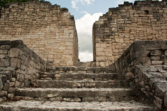 kohunlich mayan καταστροφές στοκ εικόνα με δικαίωμα ελεύθερης χρήσης
