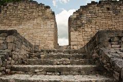 Kohunlich Mayan ruins Royalty Free Stock Image