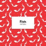 Koi Fish Pattern Lizenzfreies Stockfoto