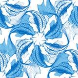 Koi fish seamless pattern Royalty Free Stock Image