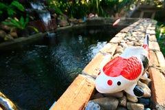 Koi Keramik. Lizenzfreies Stockbild