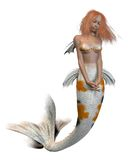 Koi Pattern Mermaid Royalty Free Stock Photo