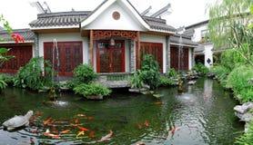 Free Koi Pond Garden Stock Images - 28844124