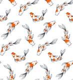 Koi ryba wzór ilustracja wektor