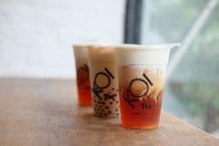 KOI Thé Tea royalty free stock images