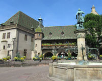 Koifhus, Кольмар, Франция Стоковое Фото