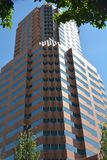 KOIN-torn i i stadens centrum Portland, Oregon Arkivbilder