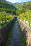 Koinbori and River Royalty Free Stock Images