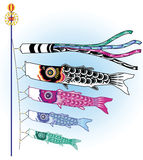 Koinobori fish Royalty Free Stock Photos