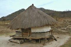 Koja av de fattiga infödingarna, Mocambique arkivbild
