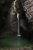 Kojak waterfall, Slovenia Royalty Free Stock Image