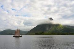 kojarzonego uprawy plenności połowu bóg njord północnego patrolowego żeglowania denny seafaring Vikings bogactwa wiatr zdjęcia royalty free