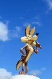 Kojotezahl des Wile-E von Warner Bros. Stockfotos