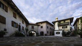 Kojsko-Dorf-Schloss Stockfotografie