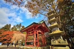 Kojyoin Tsukimido in Achi-Dorf, Nagano, Japan Lizenzfreies Stockfoto