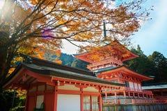 Kojyoin Tsukimido en el pueblo de Achi, Nagano, Japón Fotografía de archivo