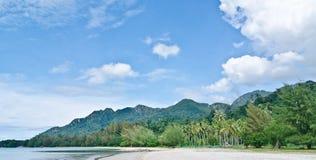 kok langkawi马来西亚pantai 免版税库存图片
